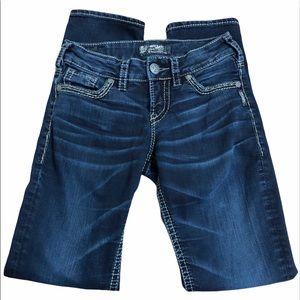 Silver Jeans Suki Mid Straight